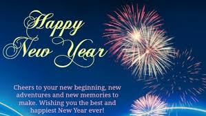 happy new year greetings 2019 card with message for special friends
