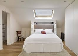bedroom charming attic bedroom design with white bed cover and
