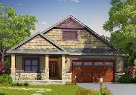 plan 42377db 2 bed craftsman with laundry option craftsman