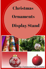 ornament display stand décor season charm