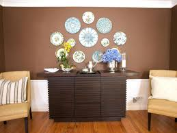 dining room wooden wall table diningroom flowers design elegant