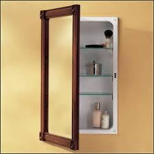 wood framed recessed medicine cabinet wood framed recessed medicine cabinets bathroom fresh bathroom
