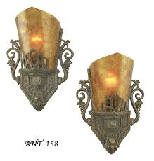 Deco Wall Sconces Edwardian Wall Sconces 1920s Early Art Deco Lights Antique Art