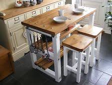 kitchen with island and breakfast bar butchers block island ebay