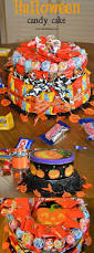how to make a halloween candy cake about a mom