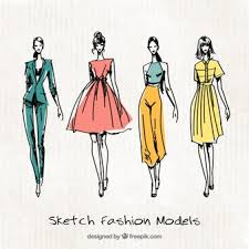 design pattern of dress fashion vectors photos and psd files free download