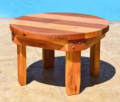 Small Folding Wooden Table Ashleys Round Side Table Options 30 Diameter 18 Inches Tall