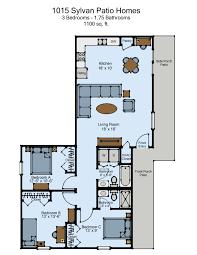 1013 u0026 1015 sylvan patio homes 3 bed 2 bath haag management inc