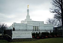 Tennesse by Nashville Tennessee Temple Name Sign