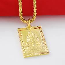 aliexpress buy new arrival fashion 24k gp gold online shop new trendy vintage 24k gold gp buddha rectangle