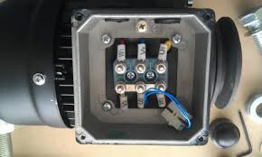 wiring single phase electric motor to mains electricity