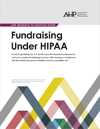 item detail fundraising under hipaa e version