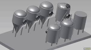 yolong 3d brewery model to show brewery layout company news