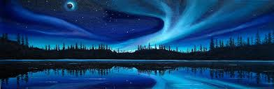 how to paint northern lights northern lights paintings