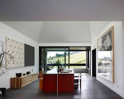 combined home and art gallery house t in switzerland