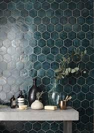 Hexagon Backsplash Tile by Top 25 Best Hexagon Tiles Ideas On Pinterest Traditional Trends