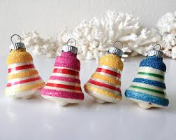 Glass Bell Christmas Ornaments - bell ornament etsy