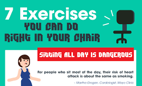 exercises to do at your desk 7 exercises that will get you out of your chair