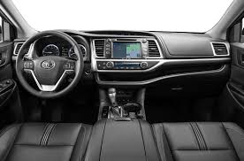 toyota highlander 2016 interior new 2017 toyota highlander price photos reviews safety