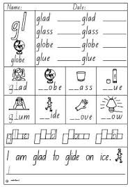 activity sheet blend gl english skills online interactive