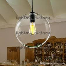 Contemporary Pendant Lighting Discount Modern Nordic Lustre Globe Pendant Lights Glass Ball Lamp