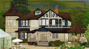 small victorian house plans the sims 3 victorian house plans