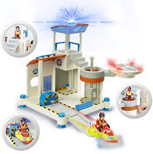 Fireman Sam Bedroom Furniture by Amazon Com Fireman Sam Ocean Rescue Playset By Character Options