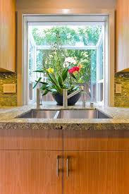 kitchen window ideas small kitchen bay window over sink outofhome
