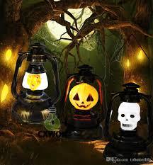 2018 sound sensor night lamp halloween light ghost pumpkin witch