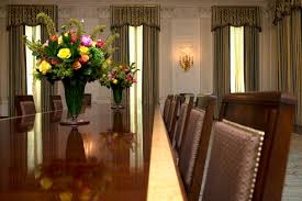 White House Dining Room Washington First Lady Gives New Look To State Dining Room