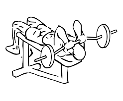 Narrow Grip Bench File Decline Close Grip Bench To Skull Crusher 2 Svg Wikimedia