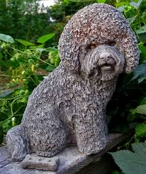 bichon frise and cats cats and dogs figurines art and photos