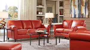 Red Living Room Chair by Leather Living Room Sets U0026 Furniture Suites
