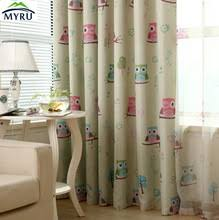 Owl Drapes Popular Curtain Designs For Kids Room Buy Cheap Curtain Designs