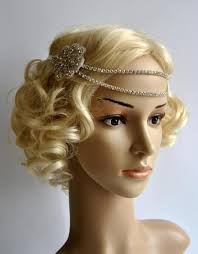 1920s headband bridal rhinestone headband 1920s the great gatsby flapper