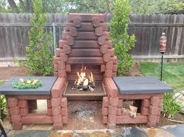precast outdoor fireplace brick diy precast outdoor fireplace