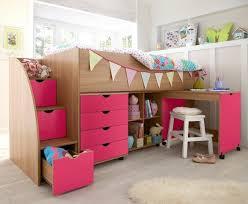 Kidspace Milo Mid Sleeper Pink Lori Pinterest Mid Sleeper - Kidspace bunk beds