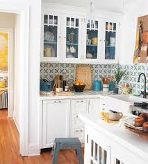 kitchen tile backsplash ideas with white cabinets best white cabinet backsplash ideas my home design journey