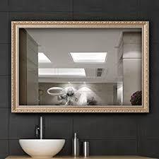 Bathroom Wall Mounted Mirrors Wall Mount Mirror Bathroom Vanity Mirrors For