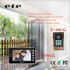 smart home sip ip wifi intercom system sip video door phone gsm
