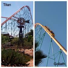 Six Flags Height Six Flags Similarities California Coaster Kings