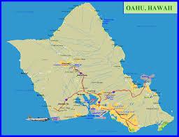 Hawaii Island Map Hawaiian Islands