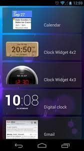 clock and weather widgets for android add weather clock widgets to android 4 2 jelly bean lock screen