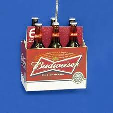 how much is a six pack of bud light buy budweiser beer bottles six pack christmas ornament ab2302 bud