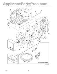 frigidaire im116000 tm ice maker kit 20 appliancepartspros com