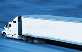 concept semi truck speeding semi truck stock photo image of blue trucking 43060540