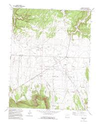 Colorado On The Us Map by Symbology On A Topographic Map