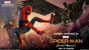 spider man homecoming event launches today for marvel heroes