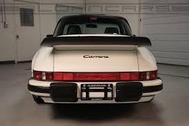 1986 porsche targa 1989 porsche 911 targa grand prix white 18 429 miles sloan cars