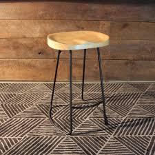 oak wood bar stools rustic tractor seat oak wooden bar stool wazo furniture